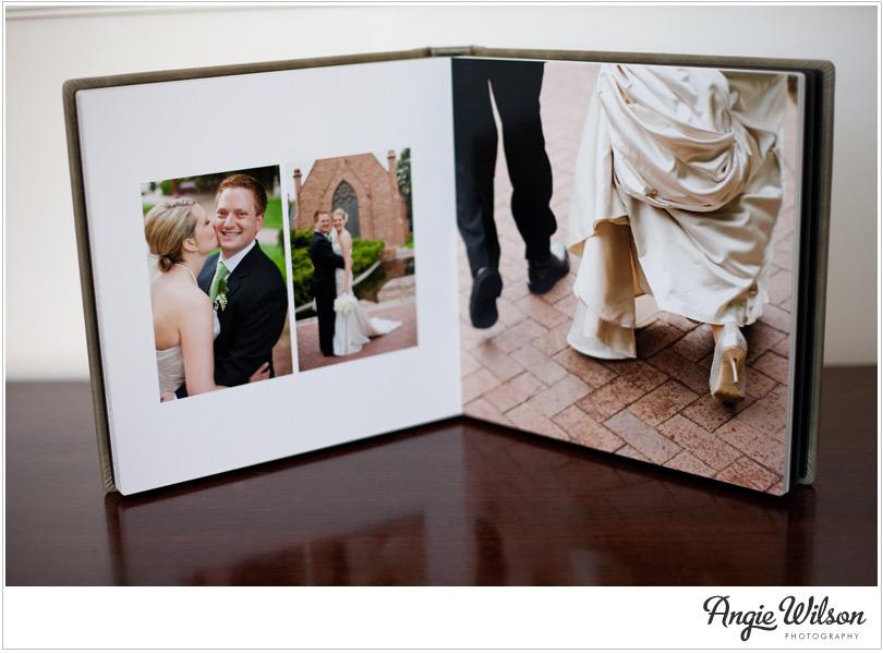 how to create a wedding photo album