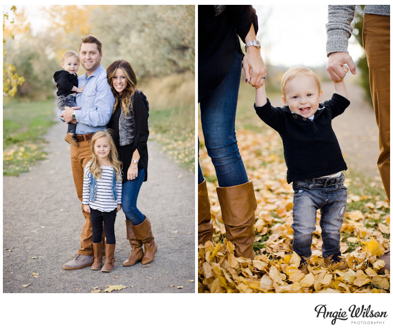 Fall family portraits boulder angie wilson photography Fall family photo clothing ideas
