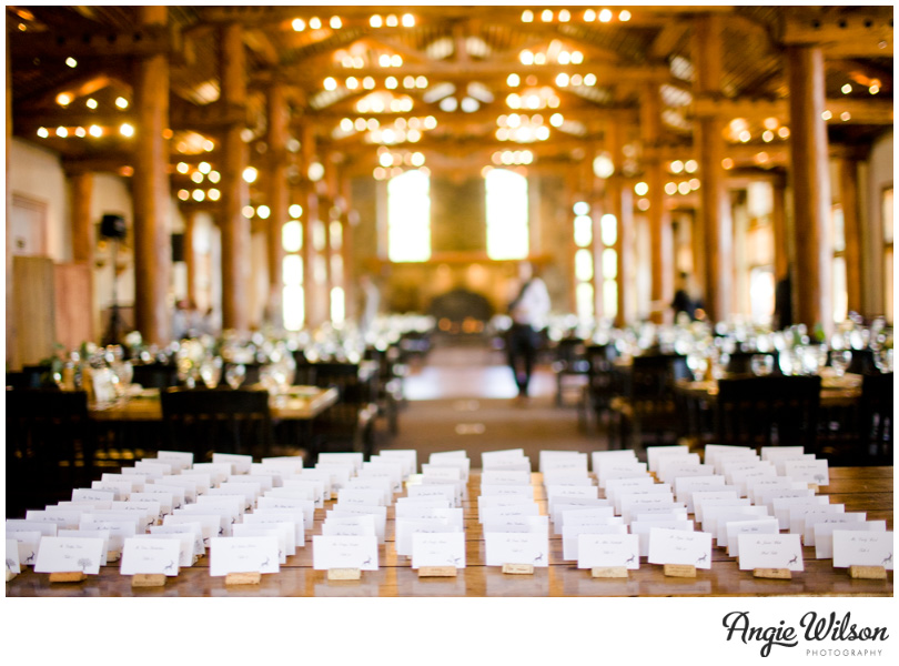 Keystone Wedding Timber Ridge Table Cards